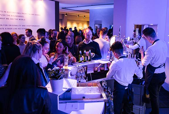 House of Peroni art bar